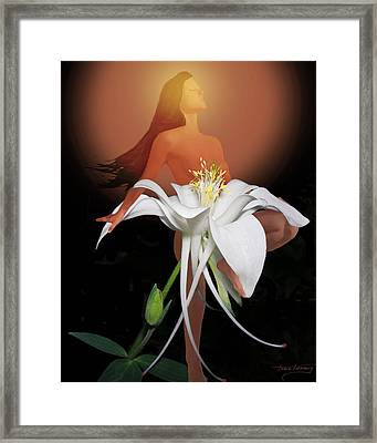 Sun Maiden Framed Print by Torie Tiffany