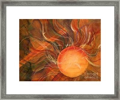 Sun Spot Framed Print by Dan Earle