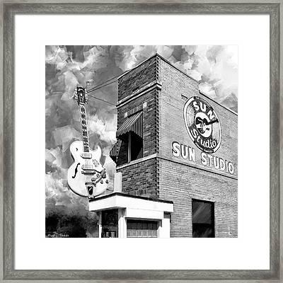 Sun Studio - Memphis Landmark Framed Print by Mark Tisdale