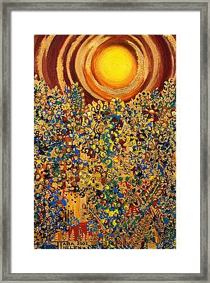 Sun Framed Print by Tara Thelen - Printscapes