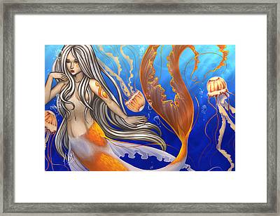 Sun Touched Framed Print by KimiCookie Williams