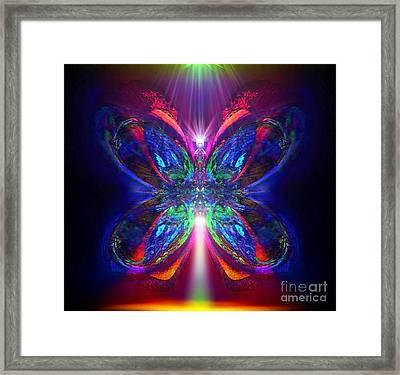 Sunbeam Pearwhistle Framed Print by Raymel Garcia