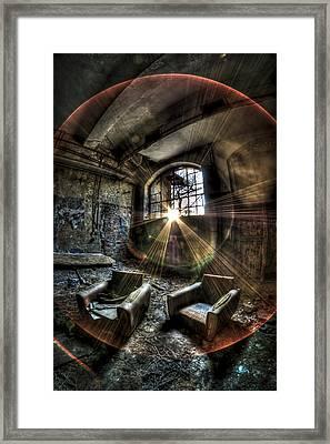 Sunburst Sofas Framed Print by Nathan Wright