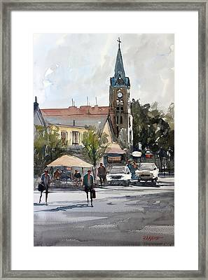 Sunday Afternoon In Cedarburg Framed Print by Ryan Radke