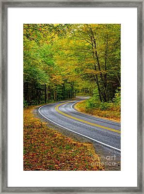 Sunday Drive Framed Print by Matthew Trudeau