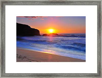 Sunday Evening Framed Print by Daren  Le