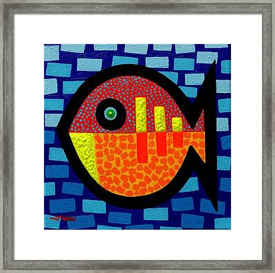 Sunday Fish Framed Print by John  Nolan