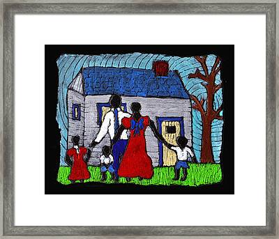 Sunday Morning Finest Framed Print by Wayne Potrafka