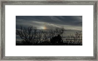 Sundog Framed Print by Karen Slagle