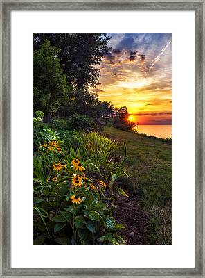 Sundown Framed Print by Mark Papke