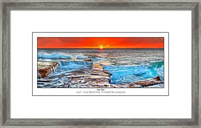 Sunlight Delight Poster Print Framed Print by Az Jackson
