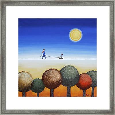 Sunny Afternoon Framed Print by Graciela Bello