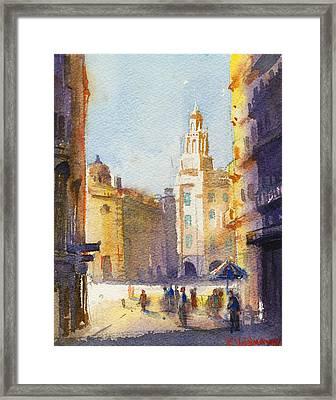 Sunny Day Framed Print by Kristina Vardazaryan