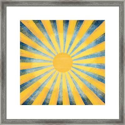 Sunny Day Framed Print by Setsiri Silapasuwanchai