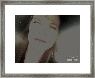 Sunny Disposition Framed Print by Amanda Barcon
