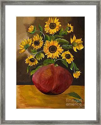 Sunny Framed Print by Sweta Prasad