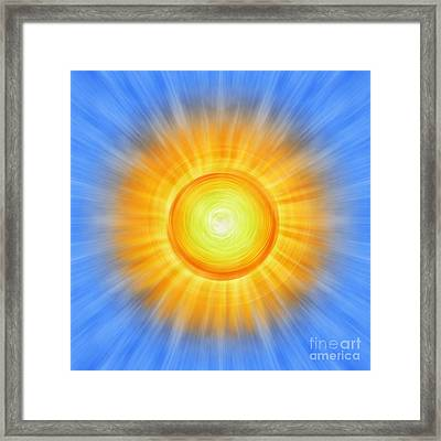 Sunny Framed Print by Tim Gainey