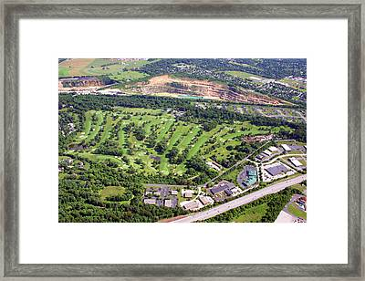 Sunnybrook Golf Club Golf Course 398 Stenton Avenue Plymouth Meeting Pa 19462 1243 Framed Print by Duncan Pearson