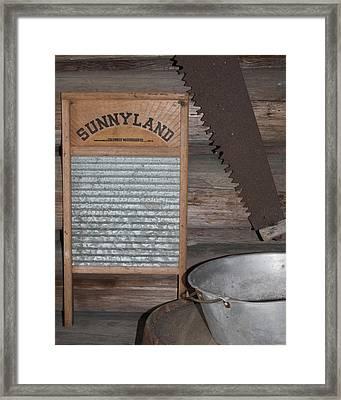 Sunnyland Framed Print by Dana  Oliver