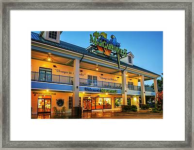 Sunrise At Margaritaville Framed Print by Greg Mimbs