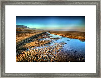 Sunrise At Rockaway Beach Oregon Framed Print by Spencer McDonald