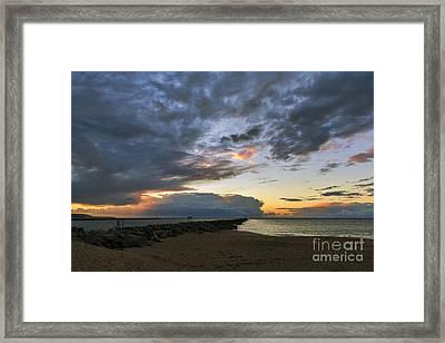 Sunrise At The Wedge 2 Framed Print by Eddie Yerkish