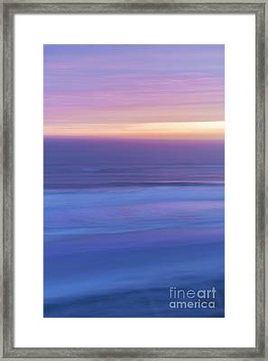 Sunrise Atlantic 3 Framed Print by Elena Elisseeva