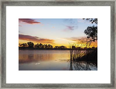 Sunrise Brady Framed Print by Bill Kesler