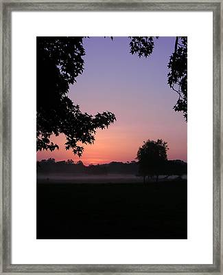 Sunrise Colors Framed Print by Warren Thompson