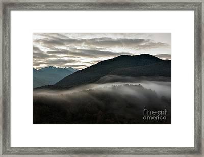 Sunrise In The Abruzzo National Park Framed Print by Luigi Morbidelli