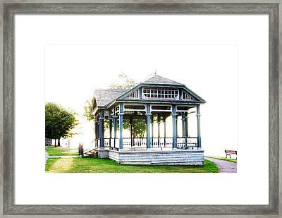 Sunrise Newlands' Pavilion Framed Print by Paul Wash