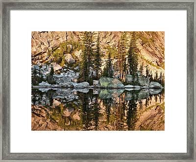 Sunrise Reflection Framed Print by Leland D Howard