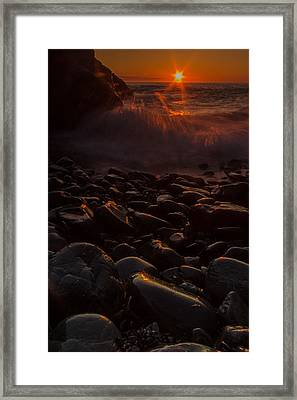Sunrise Framed Print by William Sanger