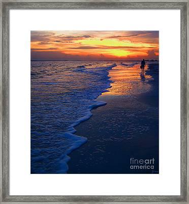 Sunset 1 Framed Print by Jeff Breiman