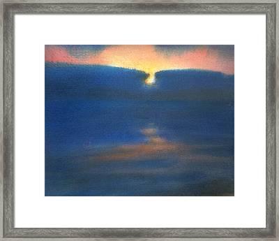 Sunset 1 Framed Print by Valeriy Mavlo