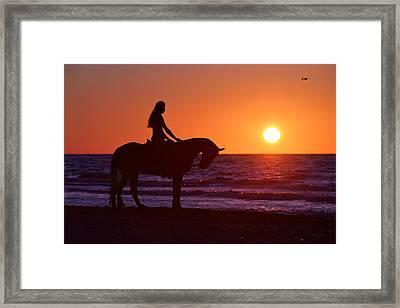 Sunset Framed Print by Artur Baboev