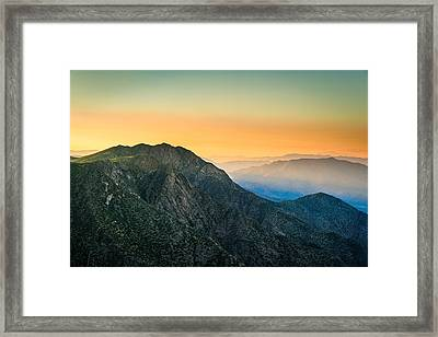 Sunset At Fosters Point Framed Print by Alexander Kunz
