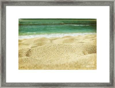 Sunset Beach Framed Print by Sharon Mau