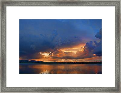 Sunset Blues Framed Print by James BO  Insogna