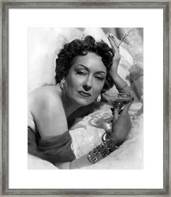 Sunset Boulevard, Gloria Swanson, 1950 Framed Print by Everett