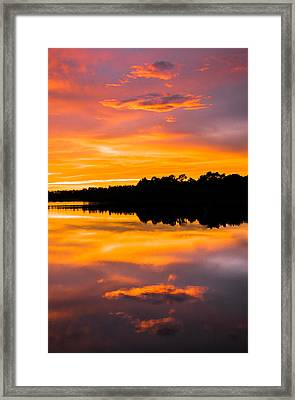 Sunset Colors Framed Print by Parker Cunningham