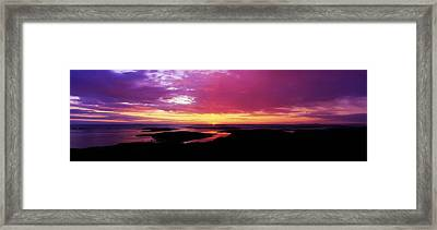 Sunset, Connemara, Co Galway, Ireland Framed Print by The Irish Image Collection