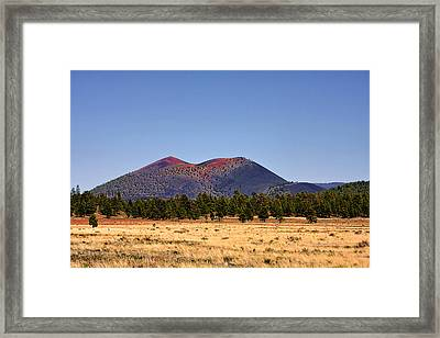 Sunset Crater Volcano National Monument Framed Print by Christine Till