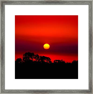 Sunset Dreaming Framed Print by Az Jackson