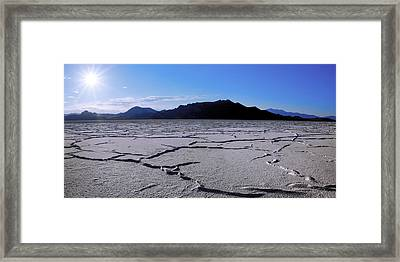 Sunset Flats Framed Print by Chad Dutson