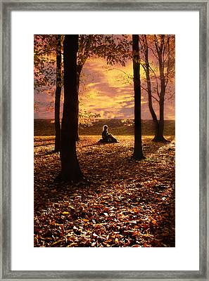 Sunset II Framed Print by Cambion Art