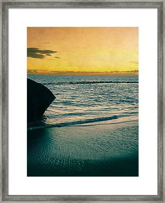 Sunset In Tenerife Framed Print by Loriental Photography