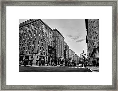 Sunset In The City Framed Print by Alexey Topolyanskiy