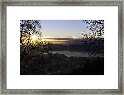 Sunset In Varese Framed Print by Andrea Visconti