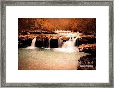 Sunset On King's River Framed Print by Tamyra Ayles